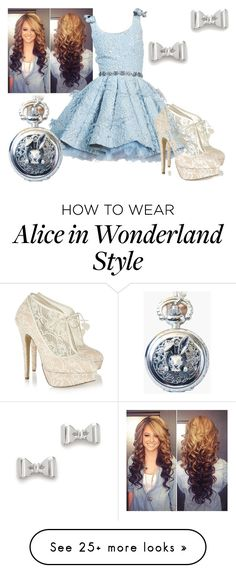 """Alice in Wonderland"" by dancer-girl589 on Polyvore featuring Charlotte Olympia, Marc by Marc Jacobs, women's clothing, women's fashion, women, female, woman, misses and juniors"