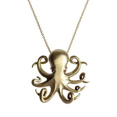 Ruby Octopus Necklace