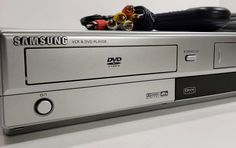 Vcr Player, Dvd Players, Dvd Vcr, Dolby Digital, Happy Shopping, Remote, Samsung, Etsy Shop, Check