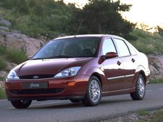 Ford Focus Sedan EU-spec '1998–2001