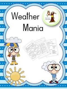 This is a 10 lesson unit that includes discussion of clouds, severe weather, frontal systems, and much much more! Each lesson includes multiple worksheets that are part of a weather journal. The culmination of the unit is where students must give a speech as if they are a meteorologist giving the weather (accurately) for the U.S.