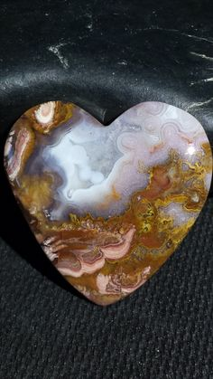 LaRivera Plume Agate. Material from Alex Small. One of my favorites!! Lapidary by Cyndi Wolke.