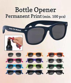 Sunglasses Wedding Favors Bottle Openers FREE Proofs
