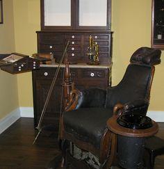 Baltimore Dental Museum Dental Chair