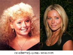 Kelly Ripa - Then and Now