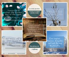 Terri Giuliano Long shares the quotes that have inspired her this week, including words from Ross Perot and Henry David Thoreau. Classic Quotes, Word Pictures, Words, Inspiration, Biblical Inspiration, Inhalation