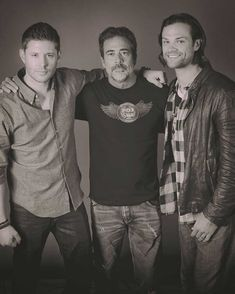 Jensen, Jeffrey Dean Morgan and Jared