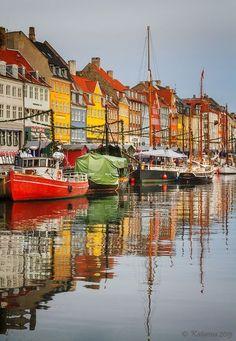 Colours of Copenhagen ~ Denmark