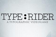 ¡El mundo de los videojuegos tiene un espacio para la tipografía!
