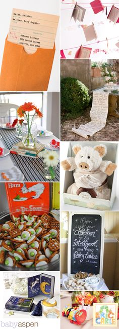 57 Best Book Themed Baby Shower Images On Pinterest Ideas Baby