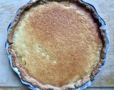 French Lemon Tart with gluten-free crust - A Lady In France