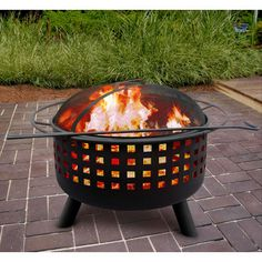 great gift for my husband for Father's Day---a Fire Pit!