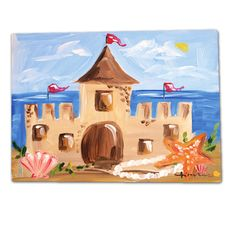 RP by The perfect #beach #iPadcase. Save 25% - Summer Sale to 7/6 http://Splashtablet.com Sandcastle - summer art