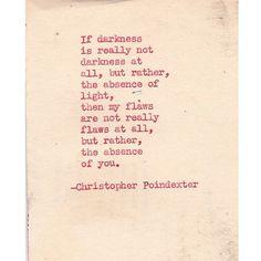 Their tears were their love poem 13 by Christopherspoetry on Etsy, $10.00