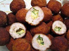 Egy finom Kijevi csirkegolyók  ebédre vagy vacsorára? Kijevi csirkegolyók  Receptek a Mindmegette.hu Recept gyűjteményében! Hungarian Recipes, Meat Recipes, Baked Potato, Mashed Potatoes, Lunch, Baking, Ethnic Recipes, Food, Diet