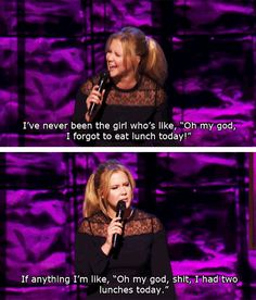 When she pointed out the ridiculous standards set for women. | 23 Times Amy Schumer Got Way Too Real About Being A Woman