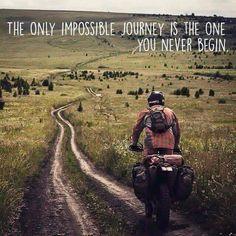 So begin now....