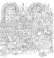 image result for romantic country coloring pages