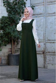 Bonita Jile Stop Muslim Women Fashion, Korean Girl Fashion, Islamic Fashion, Hijab Fashion Summer, Abaya Fashion, Fashion Dresses, Hijab Style Dress, Stylish Work Outfits, Modesty Fashion