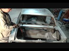 Classic Car Restoration-How To Prep Your Rusted Surface Metal. Part 1 - YouTube