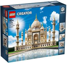 In a surprise announcement, LEGO has revealed that they will be re-releasing the original 10189 LEGO Creator Taj Mahal as a new 10256 set that will be available starting on Cyber Monday. Lego Technic, Lego Canada, Legos, La Grande Aventure Lego, Modele Lego, Lego Hogwarts, Construction Lego, Lego Creator Sets, Lego City