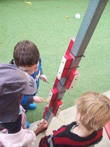 Xylophone poles
