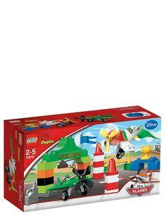 Lego Duplo, Lentsikat (Ripslingerin lentokilpailu). El Chupacabra kohtaa Ripslingerin huikeassa ilmakilpailussa. Sinä päätät, kuka kiertää keilat nopeimmin ja voittaa palkinnon. Tuotenro 10510.