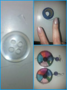 New earrings fashionable and super colorful