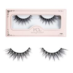 Our NEW Iconic® Lite false lashes brings the show stopping drama of the original Iconic® lashes with a thinner band and more everyday wear look and feel! These lashes combine a dynamic V-formation effect with a criss-cross pattern, lending your soulful ey