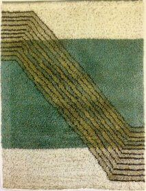 Toukokuu / May Katri Mattila Modernit ryijyt - Ryijypalvelu RP Oy Rya Rug, Textiles, Wall Rugs, Art Deco, Blankets, Branding, Room, Design, Fabrics