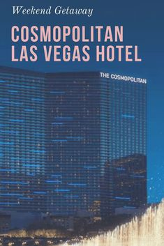 Located center-Strip, the Cosmopolitan Hotel in Las Vegas is the perfect resort for your Las Vegas escape. Vegas Getaway, Las Vegas Vacation, Luxor, Best Las Vegas Hotels, Utah, New York City, Las Vegas With Kids, Parks, Arizona