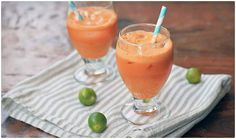 orange surprise cleansing drink