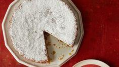 Make Martha Stewart's Lemon-Cornmeal Cake recipe from the Naturally Gluten-Free episode of Martha Bakes. Gluten Free Desserts, No Bake Desserts, Delicious Desserts, Baking Recipes, Cake Recipes, Dessert Recipes, Cornmeal Cake Recipe, Lemon Olive Oil Cake, Pbs Food