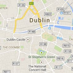 Run the Dublin Rock 'n' Roll Half Marathon, and to see famous sites like Ha'penny Bridge, Guinness Brewery and Christ Church Cathedral. Dublin Castle, Dublin City, Dublin Tours, Guinness Brewery, Dublin Hotels, City North, World Cities, Concert Hall, Walking Tour