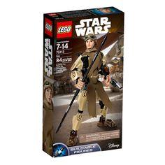 Faça parte das mais épicas batalhas no universo Star Wars com as sensacionais figuras Lego StarWars , figuras incríveis de  personagens que vão conquistar a garotada.   São diversos modelos para brincar e colecionar, entre eles Rey, Finn, Stormtrooper, entre outros. As figuras são muito detalhadas e ainda acompanham acessórios únicos como sabres de luz e armas de combate.   Lego StarWars é um brinquedo impecável que vai proporcionar muitos momentos de alegria e diversão.