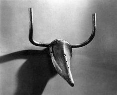 Pablo Picasso, Bull's Head [bicycle seat and handlebars], 1942; Guggenheim Bilbao