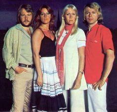 """ABBA """"The Album"""" was sort of the soundtrack for ABBA The Movie. The recordings of """"The Album"""" started May 31st 1977  working title of """"The Name Of The Game"""". In early November 1977 it was announced that all vocal parts had been recorded. Agnetha being pregnant had recorded some parts reclined on a deckchair. This pic are alternate takes of the picture on the innersleeve of """"The Album"""" and were taken late summer 1977."""