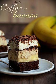 """Ciasto """"Coffee - banana"""""""