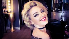 Authentic Marilyn Monroe Wet Roller Hair Set - closest to Marilyn's actual hair (need shoulder length hair)