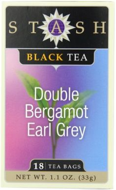 Stash Tea Black Tea Assortment 18-Count (Pack of 6): This assortment includes one box of six different flavors including Double Bergamot Earl Grey, Super Irish Breakfast, Chai Spice, Peach Black, Orange Spice, and Ginger Breakfast.