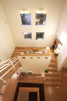 『スキップフロアで繋がる空間とコミュニケーション』|電陽社建設|富山の新築住宅・増改築・リフォーム