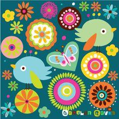 Flowers & birdies