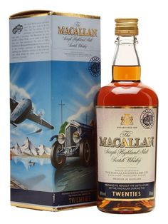 Macallan Travel Series - 1920s Scotch Whisky : The Whisky Exchange