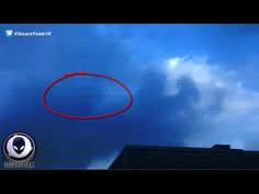 SEE IT? Spying Alien Ship Caught Hiding In Clouds Over Memphis! - YouTube
