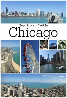Where to visit in Chicago? I'm sharing my top picks from this unforgettable city. Is Chicago a place to visit with kids? Those were the questions I was asking myself when my husband asked me Chicago Vacation, Chicago Travel, Travel Usa, Chicago Trip, Chicago Illinois, Chicago Places To Visit, Cool Places To Visit, Places To Travel, Tourist Spots