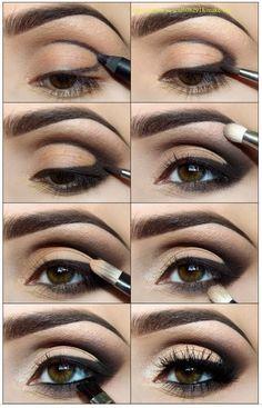 Oogschaduw aanbrengen: winged eyeliner & smokey eyes