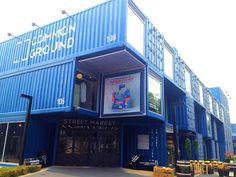 7 Seasons Style: Common Ground: Seoul's Shipping Container Complex