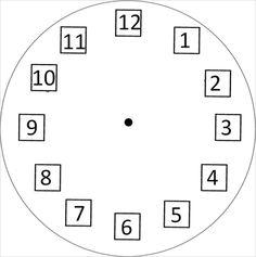 Ett material om klockan. Barnet kan träna på var siffrorna ska vara på klockan och lägga timvisaren, minutvisaren och sekundvisaren där de vill. Eller så kan man använda sig av klockkorten som jag…