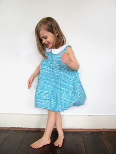 Cute! I would like to make this when I have my own kids~bubble dress with a collar