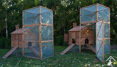 secure outdoor cat enclosure